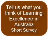 Survey-L-Cafe Aspiring for Learning Excellence in Australia - Are we in the race? LearningCafe Webinars