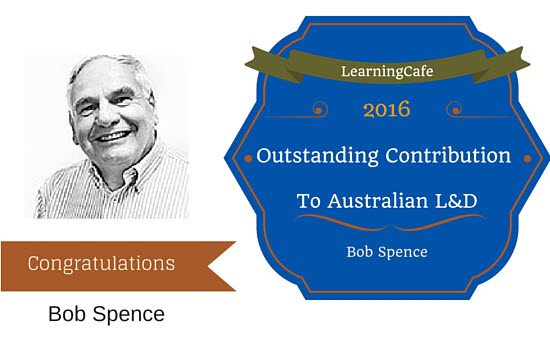 2016 Learningcafe Award For Outstanding Contribution To Australian