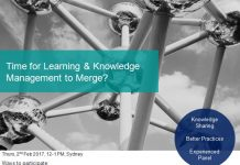 Time for Learning & Knowledge Management to Merge- LearningCafe